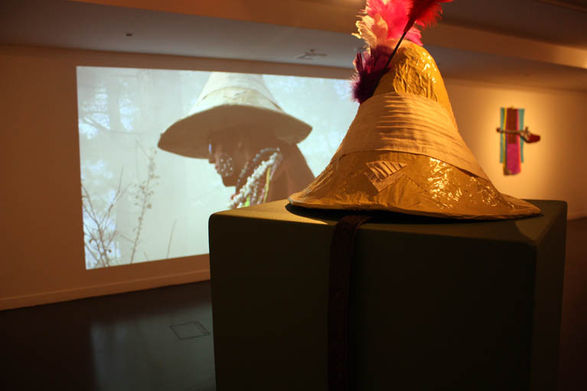 <b>Rebecca Gould</b>, <i>Outlander</i>, 2010 Installation View
