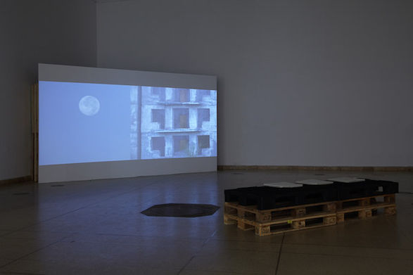 <i>Remnants of the future</i> installation view, Kunsthalle Budapest, 2010