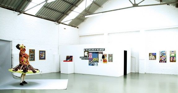 Waiter Waiter There`s a Sculpture in my Soup, Installation shot, Ceri Hand Gallery 2009