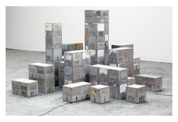 Data Blocks (2011) concrete cast towers