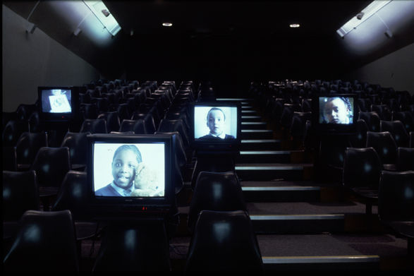 Times of our lives, multi-screen video installation, Whitworth Art Gallery, Manchester