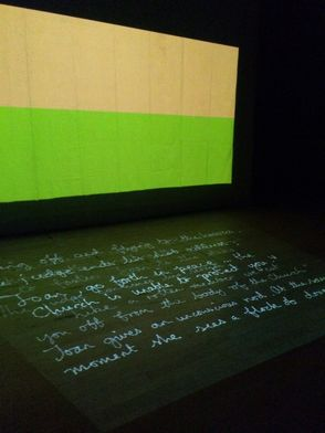 <i>Tricolour: the Passion of Joan of Arc</i>, performance/projections/audio, 2013