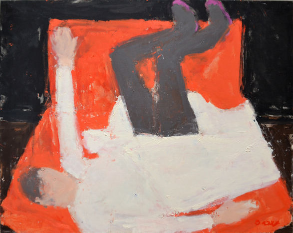 Sargy Mann: <i>Red Chair, Pink Shoes</i>