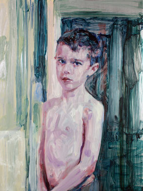 Liam O`Connor, Jack, Oil on Zinc