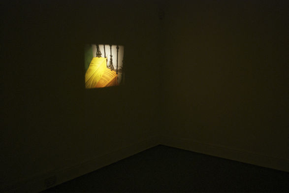Richard Bevan, <i>Untitled</i> (installation shot), 16mm film, 2009