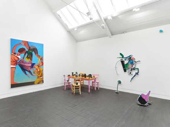 <I>Installation View at Jerwood Space.</I> Commissioned by Jerwood Charitable Foundation. Photo: Anna Arca