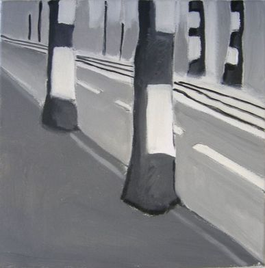 Road, Berlin, Acrylic on canvas, 2009
