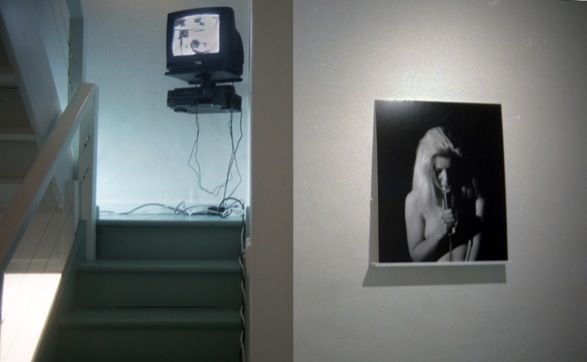 <b>Meriel Herbert</b>, <i>Channels of Communication</i> (left), and <i>Monologue</i> (right), 1998.